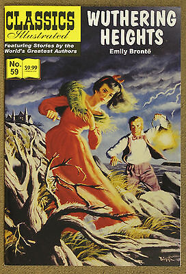 Classics Illustrated (2007 Jack Lake) #59 Wutherine Heights Emily Bronte