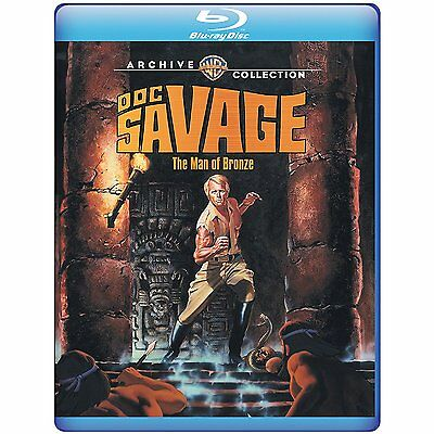 DOC SAVAGE : THE MAN OF BRONZE - BLU RAY Sealed Region free for UK