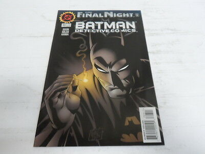 Dc Batman Detective Comics The Final Night #703 Nov.1996 7431-2 (409)