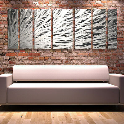 Metal Wall Art Modern Contemporary Large Abstract Sculpture Painting Home Decor