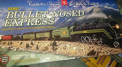 Set #8 -- 2001 -- 6060 Bullet Nosed Express BRAND NEW TRAIN SET