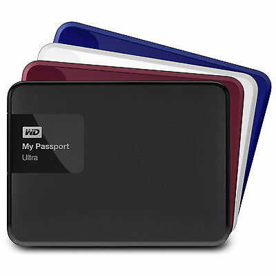 "WD My Passport Ultra External HDD USB 3.0 1TB/2TB/3TB/4TB 2.5"" Western Digital"