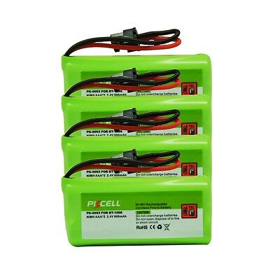 4 x Coldless Home Battery for Uniden BT-1016 BT-1021 BT-1025 BT-1008 WITH43-269