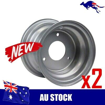 "2x 7"" Inch Front Rear Wheel Rim  ATV Quad Bike Dune Buggy Ride on Mower Go Kart"
