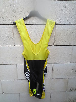 Combi Cuissard cycliste ONCE Castelli cycling short pantalones cortos ciclista S