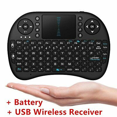 Hot! i8 Mini 2.4GHz Wireless Remote Air Mouse Keyboard for PC & Android TV Box #