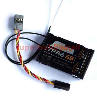 FrSky Futaba FASST compatible Rx - TFR8SB - 8 to 16 Ch Receiver w/SBUS RC plane