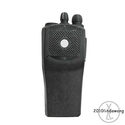 Black Replacement Repair Speaker Case Housing For Motorola EP450 Portable Radio