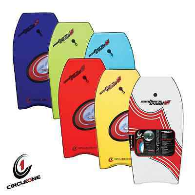 "New Adult Kids Slick Boogie Bodyboard Surf Wave 33"" 36"" 40"" 42″ 45"" Leash Boards"