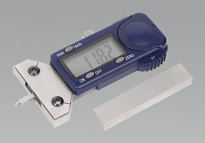 BRAND NEW Digital Tyre Tread Depth Gauge Tool VOSA Approved + Flat Surface