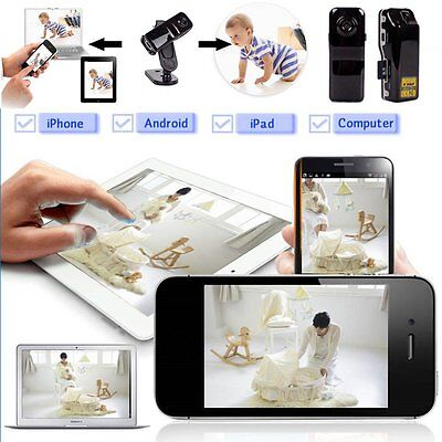 Mini Wifi IP Wireless Surveillance Camera Remote For Android iPhone PC hot LC