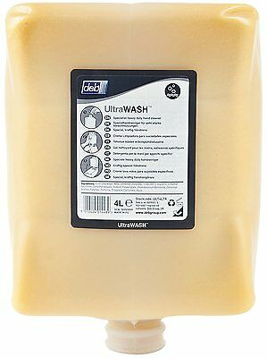 Deb Ultra Wash specialist hand cleanser 4L ULT4LTR