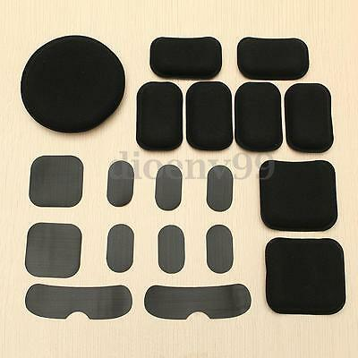 19X EVA Foam Protective Pad Sticker For Tactical Airsoft Military Helmet Outdoor