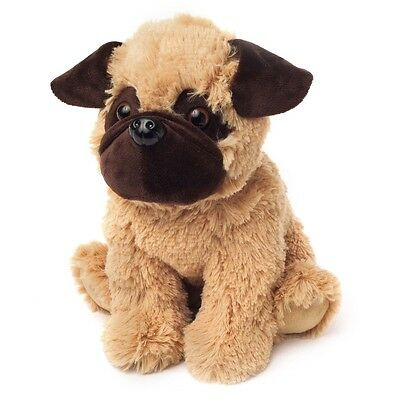 Intelex WARMIES Lavender Scented COZY PLUSH PUG Microwavable SOFT TOY