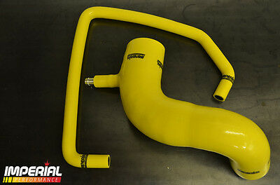 ASTRA GSI SRI CROSSOVER DELETE HOSE 70mm MAF Z20LET ZAFIRA CORSA TURBO - YELLOW
