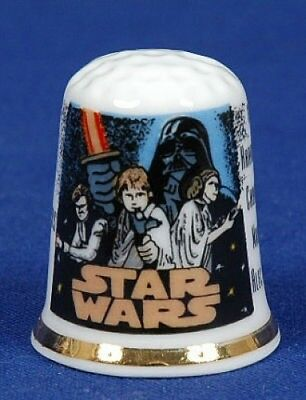 'Star Wars' The Movie Bone China Thimble B/63