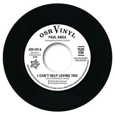 PAUL ANKA I Can't Help Loving You / When We Get.. NORTHERN SOUL 45 (OUTTA SIGHT)