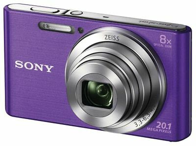 Sony Cyber-shot DSC-W830 20.1MP W Series 8x Optical Zoom (Violet)