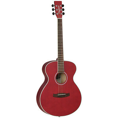 TANGLEWOOD Discovery Superfolk Acoustic Guitar, Red