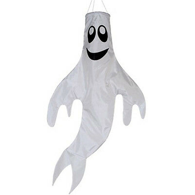 Ghost Windsock. Telescopic Flag Poles. Camping Halloween Festival Windsock
