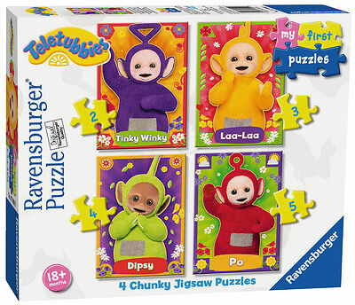 07090 Ravensburger Teletubbies My First Puzzles Chunky Jigsaw Toddler 18m+