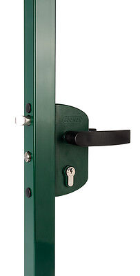 Locinox Gate Lock For Small Gates 40x40 Colour Black
