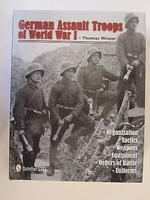 German Assault Troops of World War I - 344 pages, over 300 BW photos