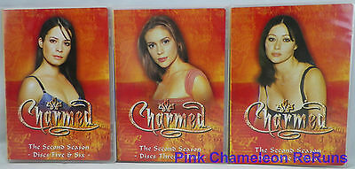 Charmed - The Complete Second Season 2 (DVD 2005, 6-Disc Set) No Outer Box Cover