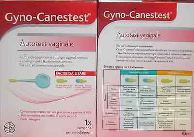 GYNO CANESTEST Autotes vaginale per diagnosticare infezioni vaginali facile