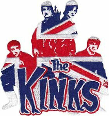 The Kinks Logo Sew on Embroidered patch flag band
