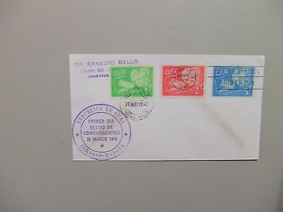 South America communist country1949 Communication fdc