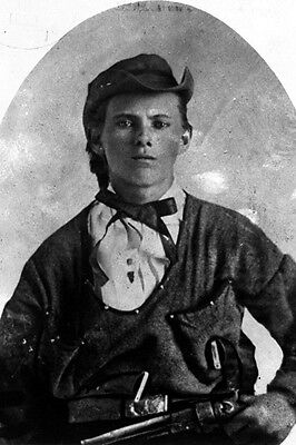 New 5x7 Photo: Infamous American Old Western Outlaw Jesse James, 1864