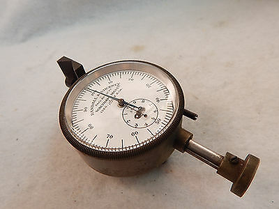CHRISTMAS GIFT ANTIQUE DIAL BENCH MICROMETER 1/1000cm JEWELER WATCHMAKER GRTEED
