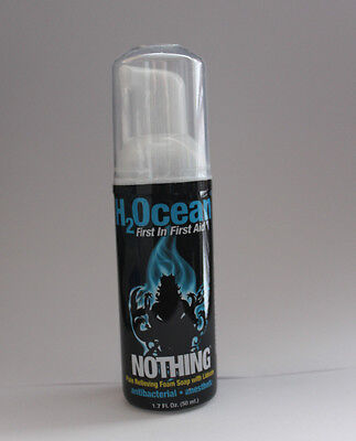 H2Ocean Nothing Foam SOAP Numbing Lidocaine Tattoo Wash Aftercare Pain Relief