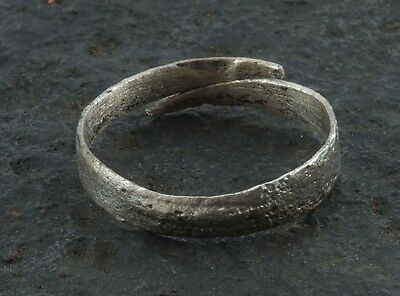 Ancient Viking  Anglo Saxon Wedding Band Jewelry C.866-1067A.D. Size 11 3/4  (21