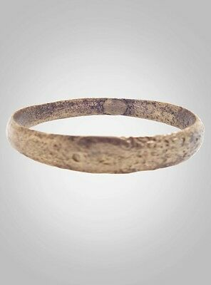 Authentic Ancient Viking Wedding Band Jewelry C.866-1067A.D. Size 11 3/4   (21.6