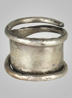 Fantastic Ancient Viking Pinky Ring Jewelry C.866-1067A.D. Size 7 (17.4mm)(Brr68