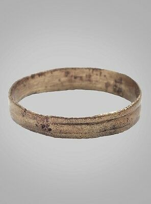 Ancient Viking   Wedding Band  Ring Jewelry C.866-1067A.D. Size 11 3/4  (21.4mm)