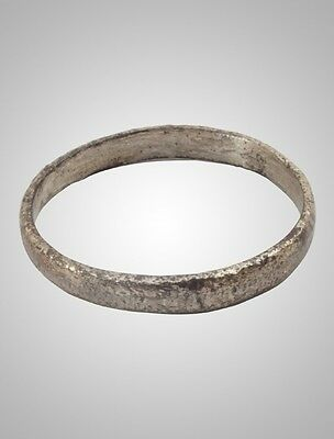 Ancient Viking Wedding Band Jewelry C.866-1067A.D. Size 8    (17.5mm)(Brr9)