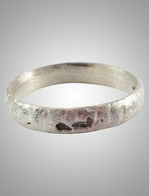 Ancient Viking  Wedding Band Jewelry C.866-1067A.D. Size 11   (21.5mm)(Brr1108)