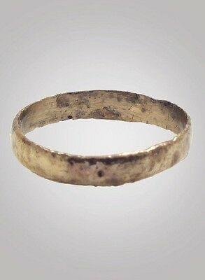 Viking Woman's  Wedding Band Jewelry C.866-1067A.D. Size 7 1/4(16.9mm)