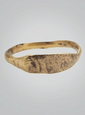 Ancient Vikking Ring With Viking Runes C.866-1067 A.D. Size 8 1/2 (18.8mm)