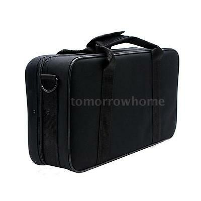 ammoon Clarinet Case Gig Bag Backpack Box 600D Water-resistant with Strap E8N5