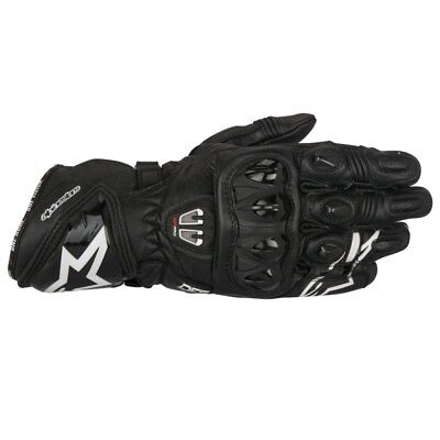 2017 Alpinestars Mens GP Pro-R2 Leather Race Gloves - Black Track Street Motorcy