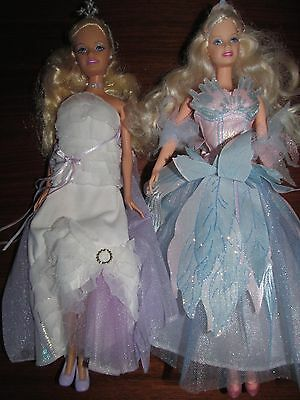 Barbie and the Magic of Pegasus Princess Annika & Light Up Wings Odette Doll Lot