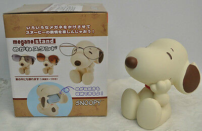 Megane Stand  Snoopy Sepia ( eyeglasses stand )