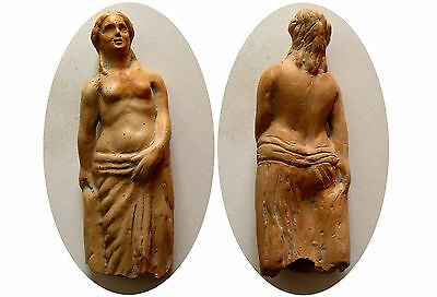 PCW-AN234-EARLY ROMAN TERRACOTTA STATUE. Ca. 1st-2nd Century AD.