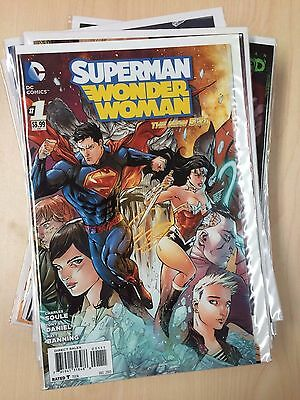 New 52 Superman Wonder Woman #1-29 + Annuals + 3D Full Run Complete Set NM