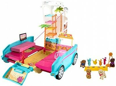 Barbie Ultimate Puppy Mobile Vehicle, Toy Van SUV Girls, pet accessories NEW