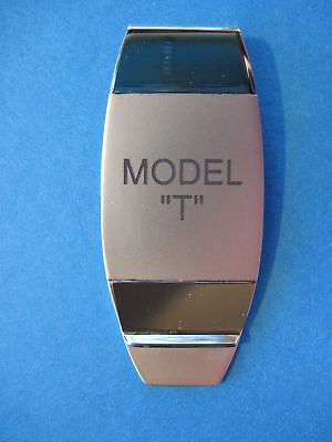 MODEL T  -  money clip - (stacked lettering) BOXED
